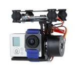 Gimbal FPV Quadcopter BGC 2 Axis Metal Brushless Gimbal w/ Controller for GoPro Camera