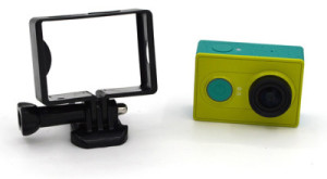 Xiaomi Yi Frame Plastik – Hitam