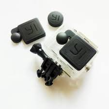 Lens Cap dan Lens Cover pelindung lensa waterproof case Kingma