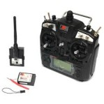 FlySky FS-TH 9X 2.4G 9CH Radio Set System transmitter receiver for rc helicopter quadcopter