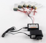 Lipo Battery 7.4v 1 To 5 Battery Balance Charger