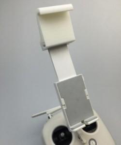 Dji Phantom Extended Mount Holder To Clip Ipad, Galaxy Tab 4 10.1