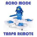Eachine e011 2.4G 60000rpm 716 Blue H36 E010 ACROMODE TANPA REMOTE