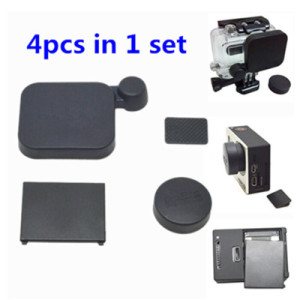 Plastic Cap for the housing of GoPro Hero 3+/4 *1 Set