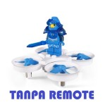 Eachine e011 2.4G 60000rpm 716 Blue H36 E010 Tiny Whoop Tanpa Remote