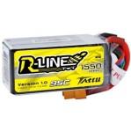 Tattu R-LINE 1550mAh 4S 95C 14.8V Lipo Battery Baterai