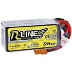 Tattu R-LINE 1300mAh 4S 95C Lipo Battery Baterai