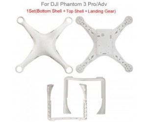 DJI Phantom 3 Pro / Adv Body Shell ORIGINAL Tanpa Box & Screw
