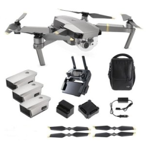 Murah Ready DJI Mavic Pro Platinum Fly More Combo