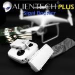 ALIENTECH ANTENA 2.4G SIGNAL BOSTER DJI PHANTOM INSPIRE Putih