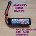 Lipo RHJ 3S 2200mAh 70C Graphene Battery Tattu Infinity CNHL Killer