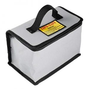 DJI Mavic SPARK LiPo Fireproof Safety Bag Battery 21x15x14cm