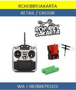 Jumper T16 Pro Hall Gimbal multiprotocol + Module Frsky R9M + battery