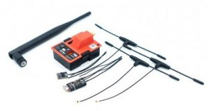 FrSky R9M Module With R9 Slim+ And R9MM Receivers and T Antenna
