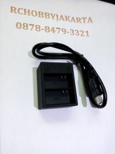 Dual Battery Desktop Charger battery GoPro 3/3+ camera