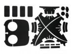 DJI Phantom Stiker Wrap Skin Decal Graphic Waterproof PVC Sticker