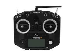 FrSky ACCST Taranis Q X7 2.4GHz 16CH Transmitter Remote Control HITAM