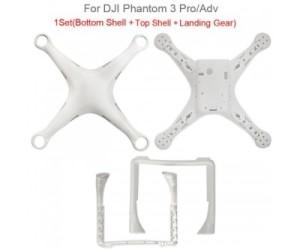 DJI Phantom 3 Pro / Adv Body Shell ORIGINAL Tanpa Box & Screw