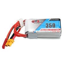 Gaoneng GNB Lipo Battery 3S 11.1V 350Mah 80/160c Jst/Xt30 Plug